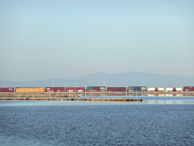 Train at Alviso - ©ingridtaylar