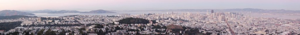 Above SF From Twin Peaks
