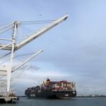 Cranes at Port of Oakland