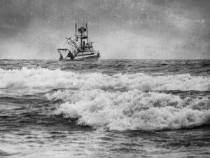 Fishing Vessel on Pacific Ocean
