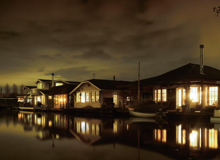 Lake Union House + Boats