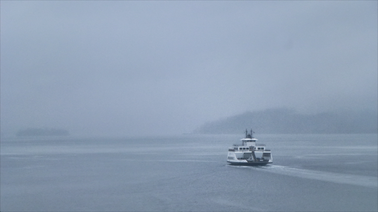 Tacoma Ferry in Fog